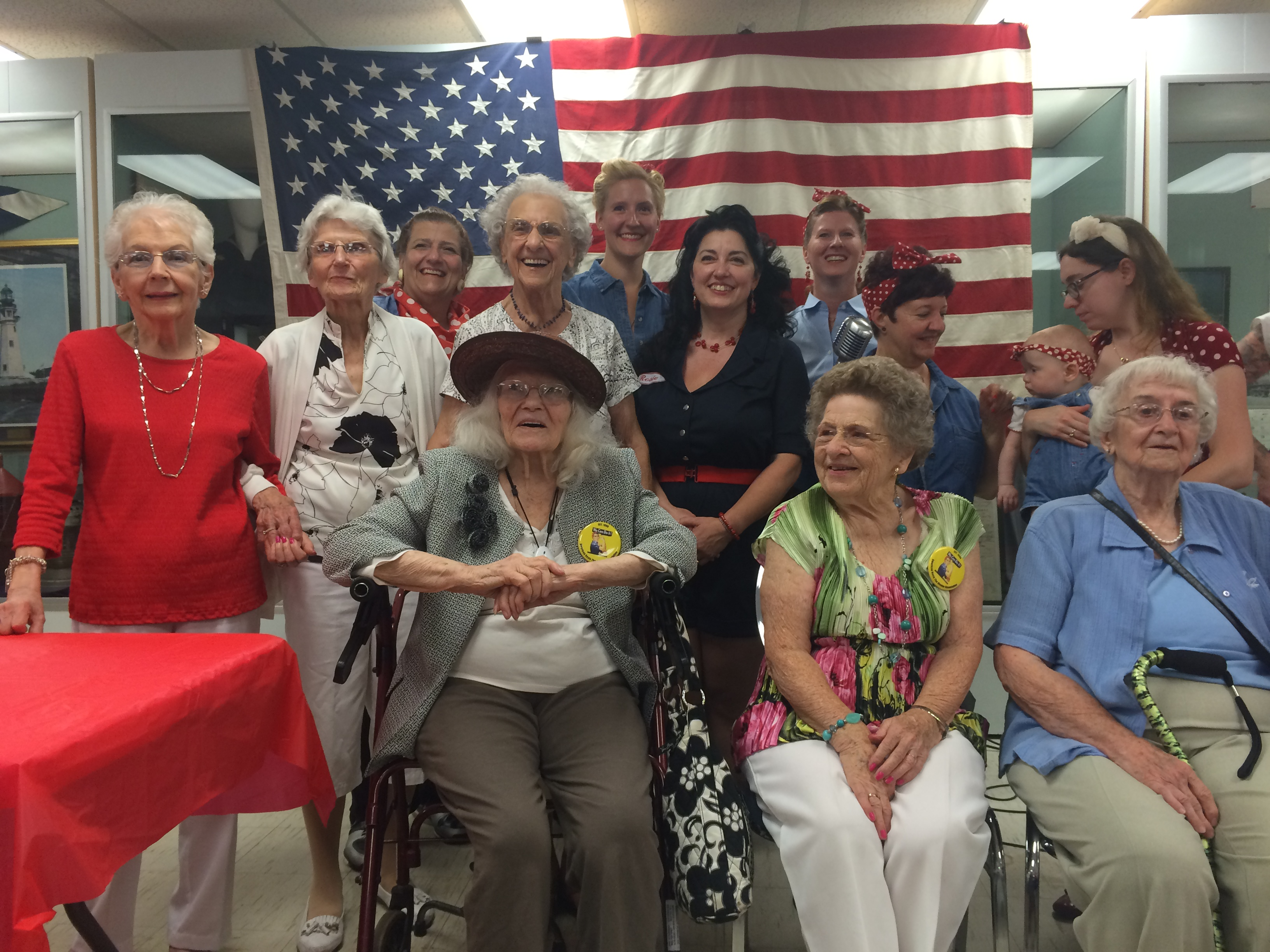 Rosie the Riveter Annual Tea
