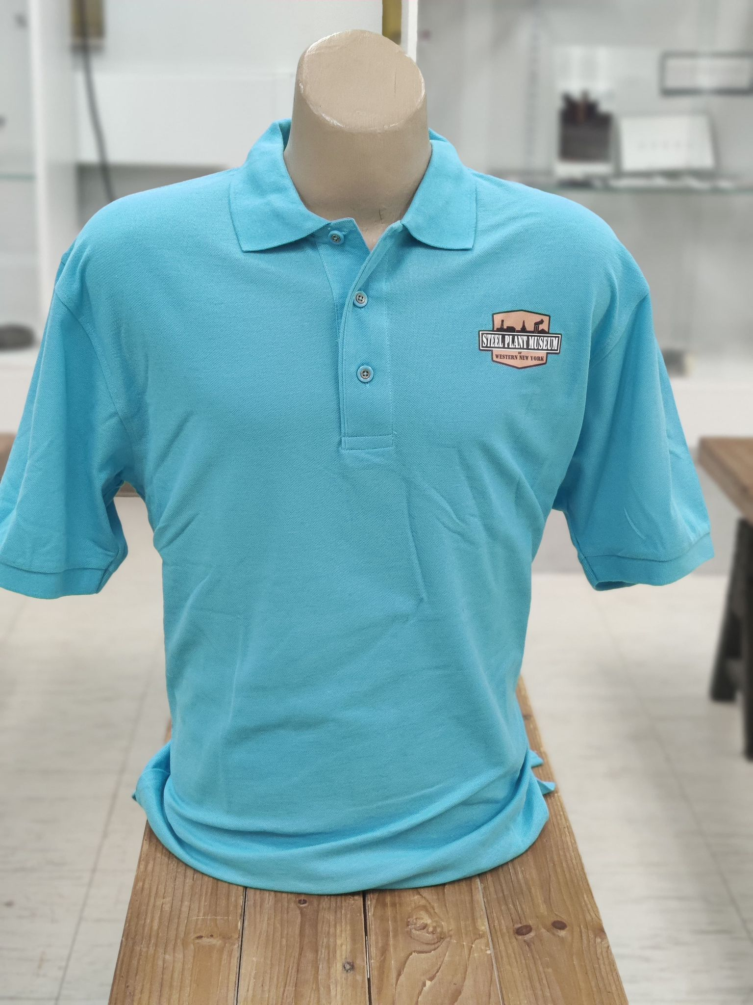 Steel Plant Museum polo with Logo